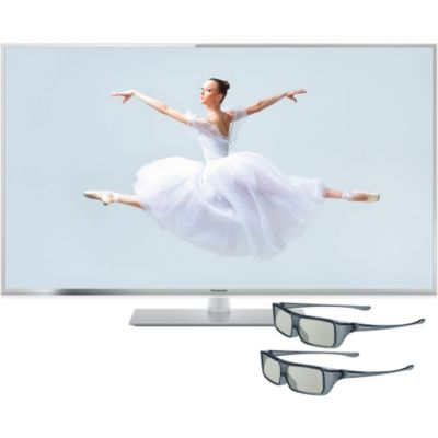 "437-512 - Panasonic VIERA 50"" Smart 3D LED Full HDTV w/ Two Pairs of 3D Glasses"