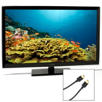 "437-621 - Panasonic SMART VIERA® 37"" 1080p LED HDTV w/ Two HDMI Cables"