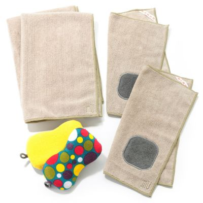 437-850 - MUKitchen® Six-Piece Microfiber Towel & Sponge Set