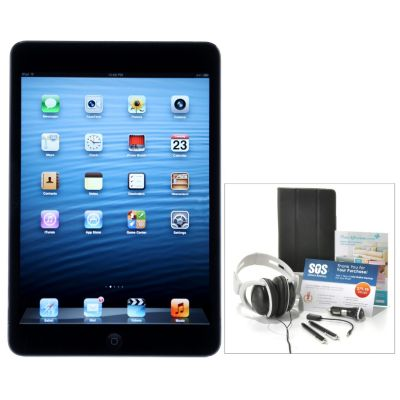 "437-999 - Apple® iPad® Mini 7.9"" LED Touch Tablet w/ Seven-Piece Accessories Kit & Gift Certificates"