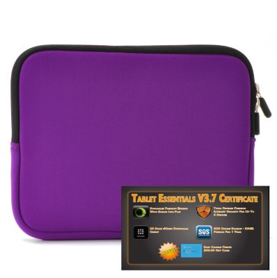 "438-241 - Tablet Essentials v3.7 Software Certificate & 10"" Neoprene Tablet Case"