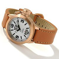 RSTN WTCH INVICTA LADY CORDUBA AUTOMATIC GENUINE LEATHER STRAP