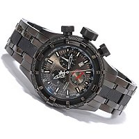 STSTL WTCH INVICTA RESERVE BOLT SWISS CHRONOGRAPH BLACK IP BRACELET