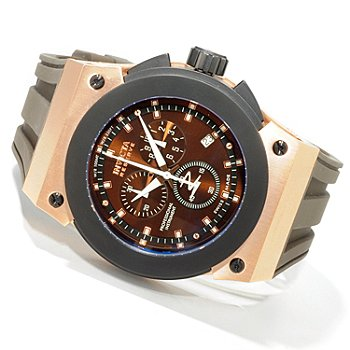 603-318 - Invicta Reserve Men's Akula Swiss Made Quartz Chronograph Strap Watch
