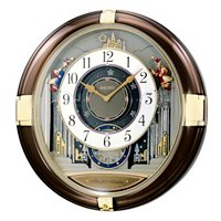 SEIKO MELODIES IN MOTION MUSICAL CASTEL WALL CLOCK