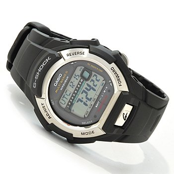 603-398 - Casio Men's G Shock Solar Quartz Dual Time Strap Watch