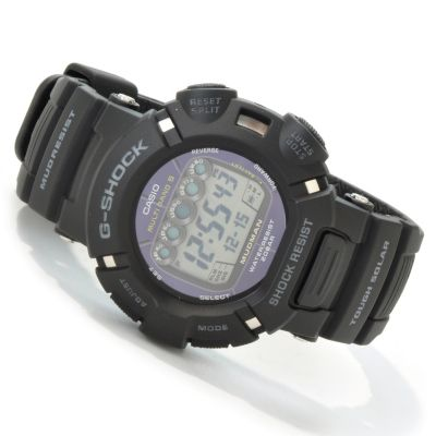 603-401 - Casio Men's G-Shock Mudman Solar Quartz Rubber Strap Watch
