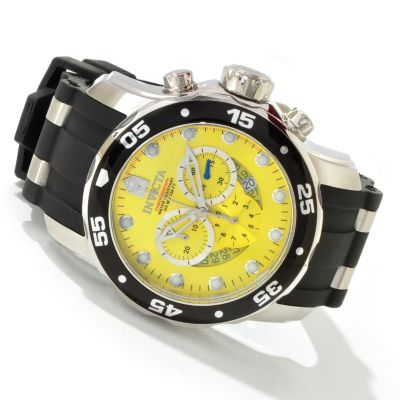603-745 - Invicta Men's Scuba Pro Diver Quartz Chronograph Strap Watch