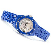 INVICTA MEN'S OR WOMEN'S CERAMIC OCEAN ELITE QUARTZ DAY & DATE CERAMIC