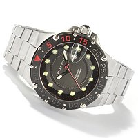 ANDROID MEN'S LTD ED DIVEMASTER ENFORCER 2824 SWISS AUTOMATIC STSL BRACELET WATCH