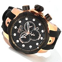 INVICTA RESERVE MEN'S VENOM SWISS CHRONOGRAPH STAINLESS CASE POLYURETHANE STRAP WATCH