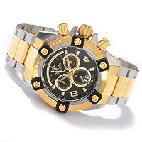 INVICTA RESERVE MEN'S ARSENAL SWISS CHRONOGRAPH BIG DATE STAINLESS BRACELET WATCH
