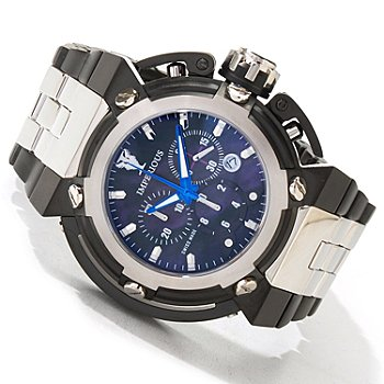 604-875 - Imperious Men's X-Wing Swiss Chronograph Stainless Case Bracelet Watch