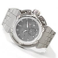 IMPERIOUS MEN'S X-WING SWISS CHRONOGRAPH STAINLESS CASE & BRACELET WATCH