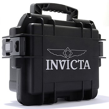 604-896 - Invicta Three-Slot Impact Dive Case