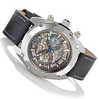 ANDROID MEN'S VIRTUOSO MECHANICAL CHRONOGRAPH LIMITED EDITION STRAP WATCH