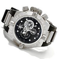 INVICTA SUBAQUA NOMA IV SWISS CHRONOGRAPH STAINLESS CASE POLYURETHANE WATCH