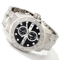 INVICTA MEN'S OCEAN GHOST PRO DIVER QUARTZ CHRONOGRAPH STAINLESS STEEL CASE & BRACELET WATCH