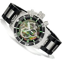 INVICTA MEN'S CORDUBA QUARTZ CHRONOGRAPH STAINLESS CASE POLYURETHANE BRACELET WATCH