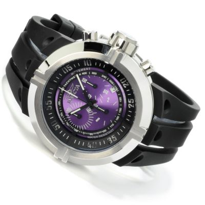 605-126 - Invicta Men's I Force Contender Quartz Chronograph Tachymeter Polyurethane Strap Watch