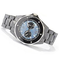 INVICTA MEN'S CERAMIC OCEAN ELITE QUARTZ DAY & DATE CERAMIC BRACELET WATCH