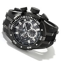 INVICTA RESERVE MEN'S BOLT SWISS MADE QUARTZ CHRONOGRAPH STAINLESS CASE POLYURETHANE STRAP WATCH