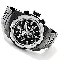 INVICTA MEN'S MOBULA CERAMIC QUARTZ CHRONOGRAPH CERAMIC CASE & BRACELET WATCH