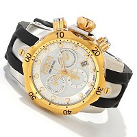 INVICTA RESERVE WOMEN'S VENOM SWISS QUARTZ CHRONOGRAPH STAINLESS STEEL CASE POLYURETHANE STRAP WATCH