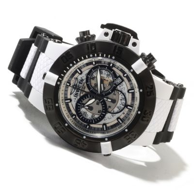 605-394 - Invicta Men's Subaqua Noma III Quartz Chronograph Polyurethane Strap Watch