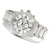 INVICTA MEN'S SPORT QUARTZ CHRONOGRAPH STAINLESS STEEL BRACELET WATCH