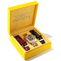 INVICTA MEN'S OR WOMEN'S LUPAH MECHANICAL STAINLESS CASE & BRACELET W/ EXTRA STRA