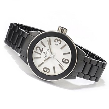 605-880 - Invicta Women's Ceramic Collection Quartz Matte Bracelet Watch