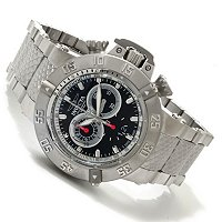 INVICTA MEN'S SUBAQUA NOMA III SWISS MADE QUARTZ CHRONOGRAPH STAINLESS CASE & BRACELET WATCH