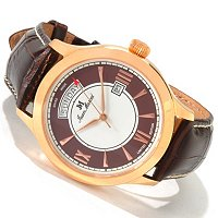 JEAN MARCEL SEMPER LIMITED EDITION SWISS MADE LEATHER STRAP WATCH