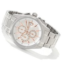 INVICTA MEN'S SPECIALTY EXECUTIVE QUARTZ CHRONOGRAPH STAINLESS WATCH