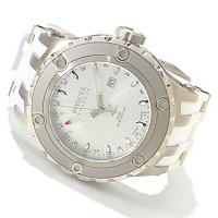 Invicta Reserve Men's Specialty Subaqua Quartz GMT stainless case strap watch