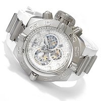 Invicta Men's Subaqua Noma IV Swiss Quartz Chrono Stainless poly strap watch