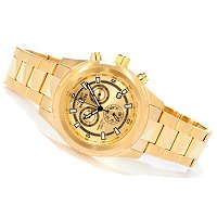 Invicta Men's Specialty Quartz Chronograph Stainless Steel Bracelet Watch