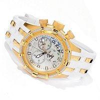 Invicta Reserve Women's Bolt MOP Swiss Made Stainless Polyurethane Strap Watch