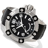 INVICTA RESERVE MEN'S ARSENAL SWISS QUARTZ STAINLESS CASE STRAP WATCH