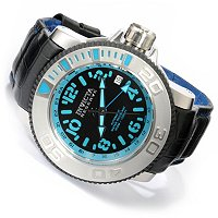 INVICTA RESERVE MEN'S SEA HUNTER A07 STAINLESS CASE STRAP WATCH