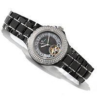 Constantin Weisz Women's Ceramic Automatic Bracelet Watch