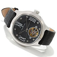 Constantin Weisz Men's Automatic Stingray Strap Watch
