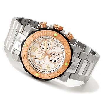 606-382 - Invicta Reserve Men's Sea Rover Swiss Made Quartz Chronograph Bracelet Watch