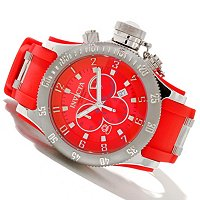 INVICTA MEN'S RUSSIAN DIVER QUARTZ CHRONOGRAPH STRAP WATCH