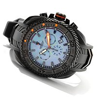 IMPERIOUS MEN'S GEARHEAD QUARTZ CHRONOGRAPH POLYURETHANE STRAP WATCH