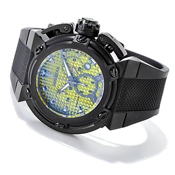 606-476 - Imperious Men's X-Wing Swiss Made Quartz Chronograph Carbon Fiber Strap Watch