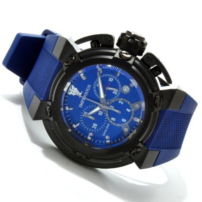 606-478 - Imperious Men's X-Wing Swiss Made Quartz Chronograph Carbon Fiber Dial Polyurethane Strap Watch