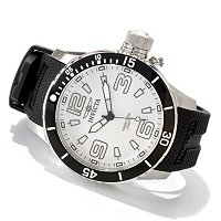 INVICTA MEN'S CORDUBA SCUBA QUARTZ POLYURETHANE STRAP WATCH