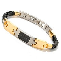 INVICTA ELEMENTS STAINLESS/RUBBER BRACELET